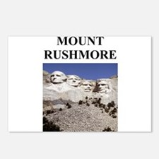mount rushmore gifts and t-sh Postcards (Package o