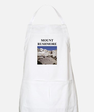 mount rushmore gifts and t-sh BBQ Apron