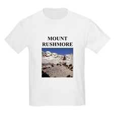 mount rushmore gifts and t-sh Kids T-Shirt