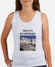 mount rushmore gifts and t-sh Women's Tank Top