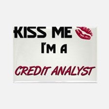 CREDIT-ANALYST26 Rectangle Magnet
