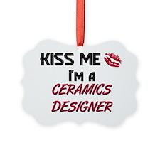 CERAMICS-DESIGNER107 Ornament