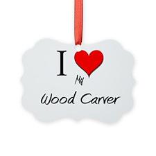 Wood-Carver143 Ornament