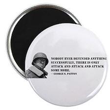 Patton Quote - Attack Magnet