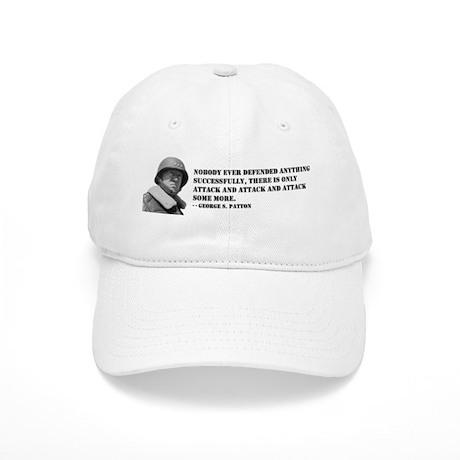 Patton Quote - Attack Cap