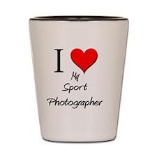 Sport-Photographer103 Shot Glass