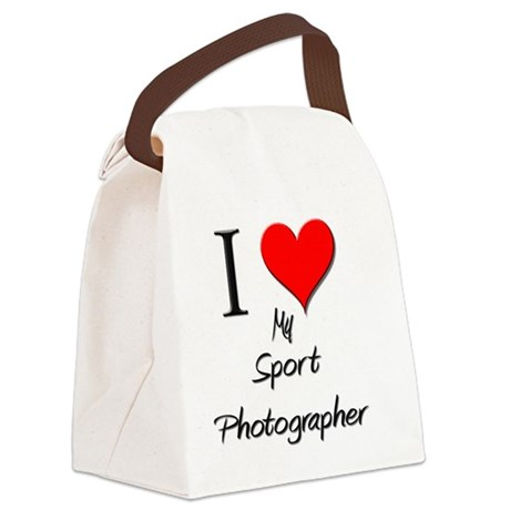 Sport-Photographer103 Canvas Lunch Bag
