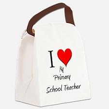Primary-School-Teach8 Canvas Lunch Bag