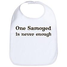One Samoyed Bib