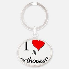 Orthopedist95 Oval Keychain