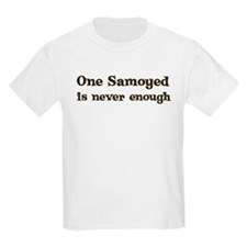 One Samoyed Kids T-Shirt