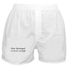 One Samoyed Boxer Shorts