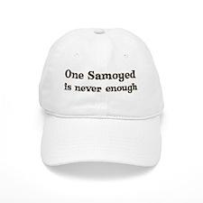 One Samoyed Baseball Cap