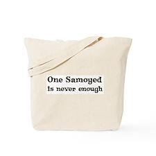 One Samoyed Tote Bag