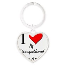 Occupational-Therapy111 Heart Keychain