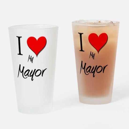 Mayor87 Drinking Glass