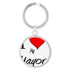 Mayor87 Round Keychain