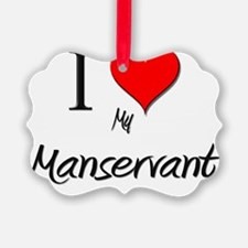 Manservant6 Ornament
