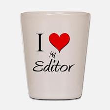 Editor50 Shot Glass