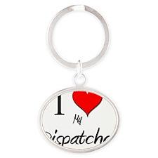 Dispatcher73 Oval Keychain