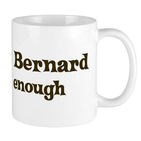 One Saint Bernard Mug