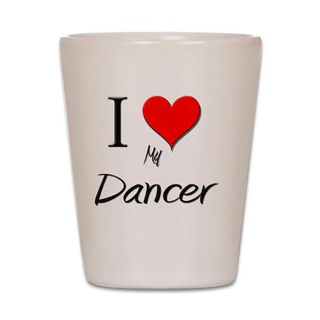 Dancer35 Shot Glass