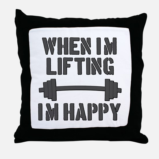 Lifting Throw Pillow