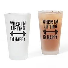 Lifting Drinking Glass