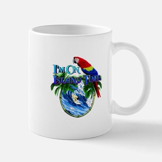 Island Time Parrot Mug