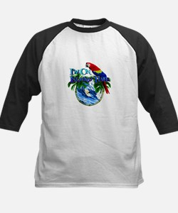 Island Time Parrot Baseball Jersey