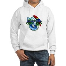 Island Time Parrot Hoodie
