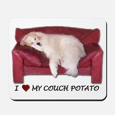 I Love my Couch Potato Mousepad