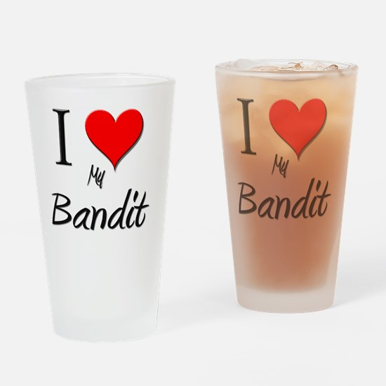 Bandit0 Drinking Glass