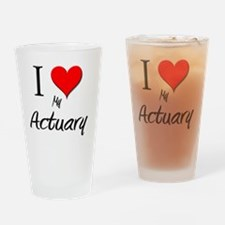 Actuary71 Drinking Glass