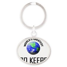 ZOO-KEEPER3 Oval Keychain