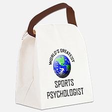 SPORTS-PSYCHOLOGIST78 Canvas Lunch Bag