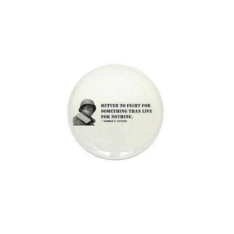 Patton Quote - Die Mini Button (10 pack)