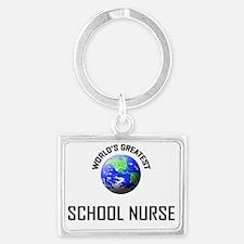 SCHOOL-NURSE0 Landscape Keychain