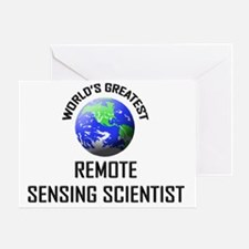 REMOTE-SENSING-SCIEN1 Greeting Card