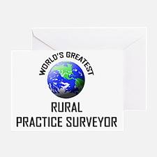 RURAL-PRACTICE-SURVE66 Greeting Card
