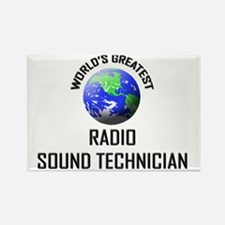 RADIO-SOUND-TECHNICI132 Rectangle Magnet