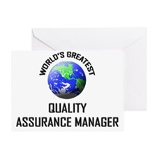 QUALITY-ASSURANCE-MA72 Greeting Card