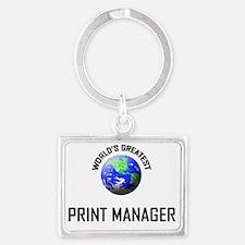 PRINT-MANAGER134 Landscape Keychain
