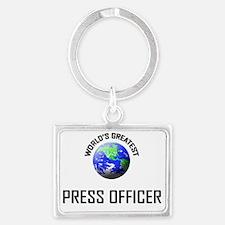 PRESS-OFFICER3 Landscape Keychain