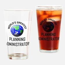 PLANNING-ADMINISTRAT73 Drinking Glass