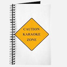 Caution Karaoke Zone Journal