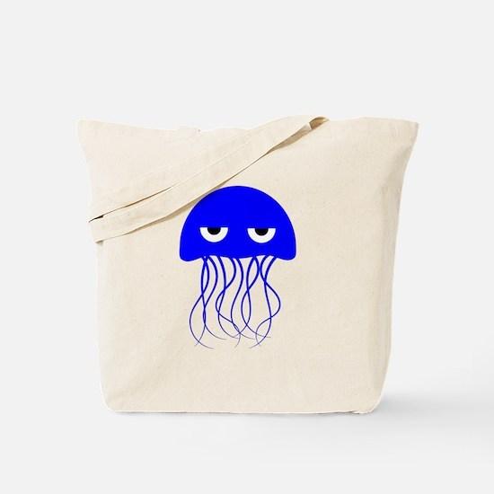 Blue Jellyfish Tote Bag