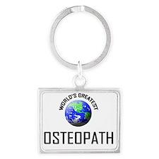 OSTEOPATH108 Landscape Keychain