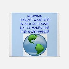 hunting Throw Blanket