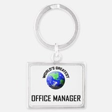 OFFICE-MANAGER145 Landscape Keychain